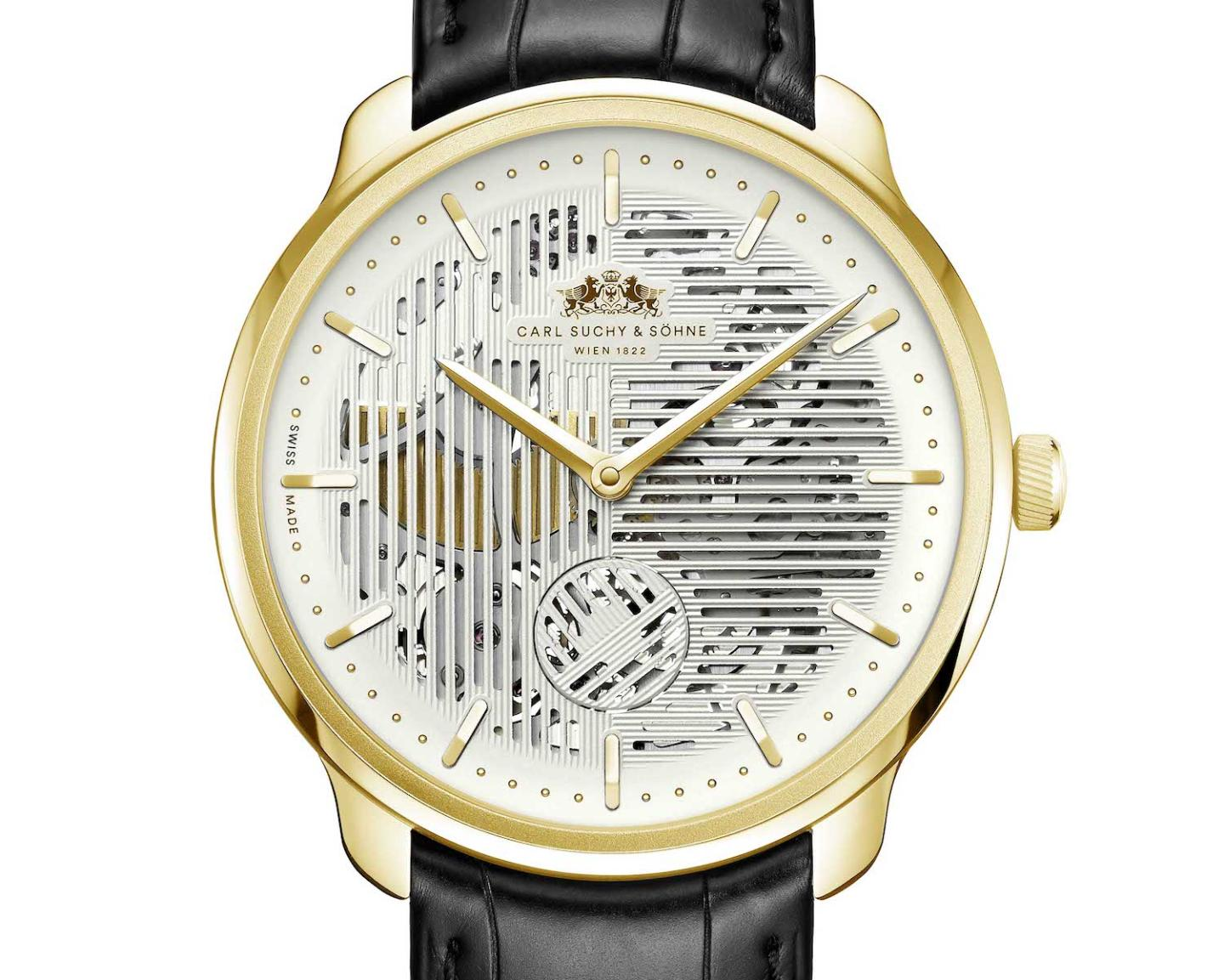 The Waltz N°1 Skeleton with white dial
