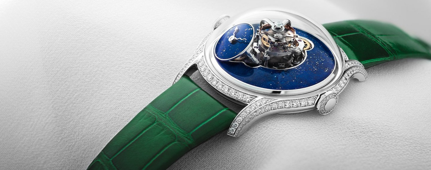 A powerful new MB&F with a lapis lazuli dial