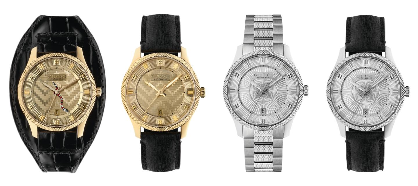 New automatic watches