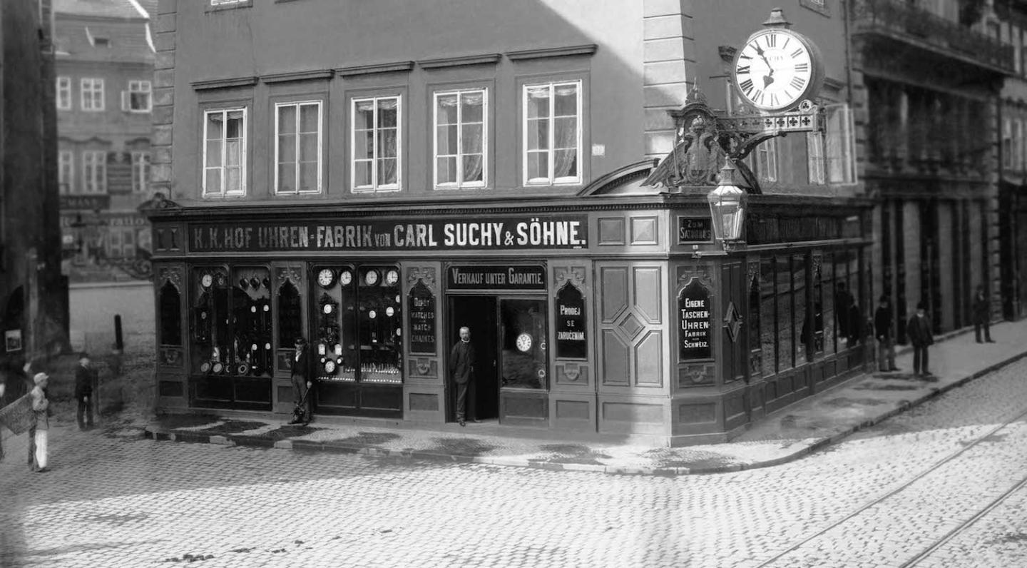 Carl Suchy & Söhne's historic shop in Vienna