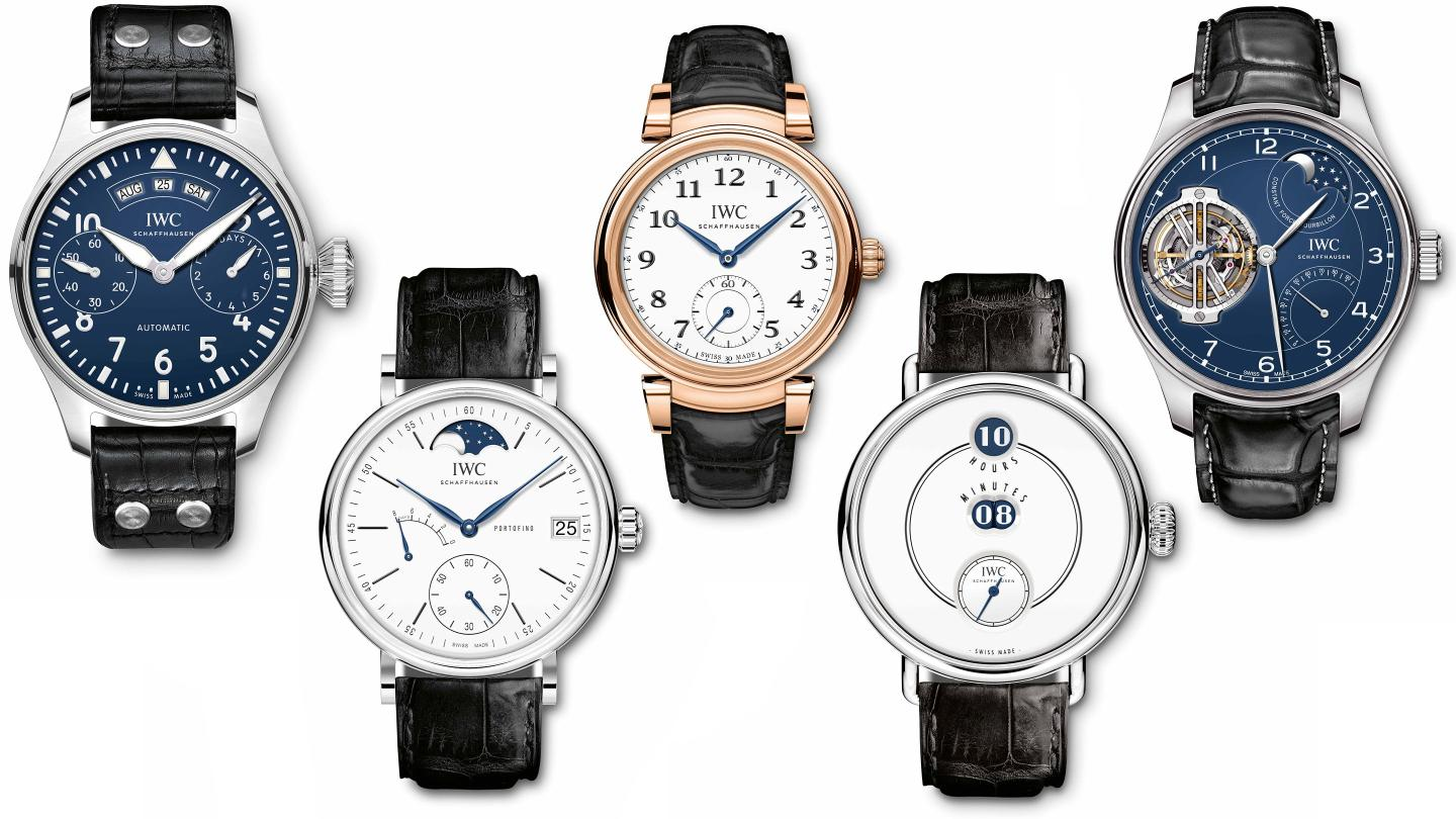 The IWC Jubilee 150th Anniversary Collection