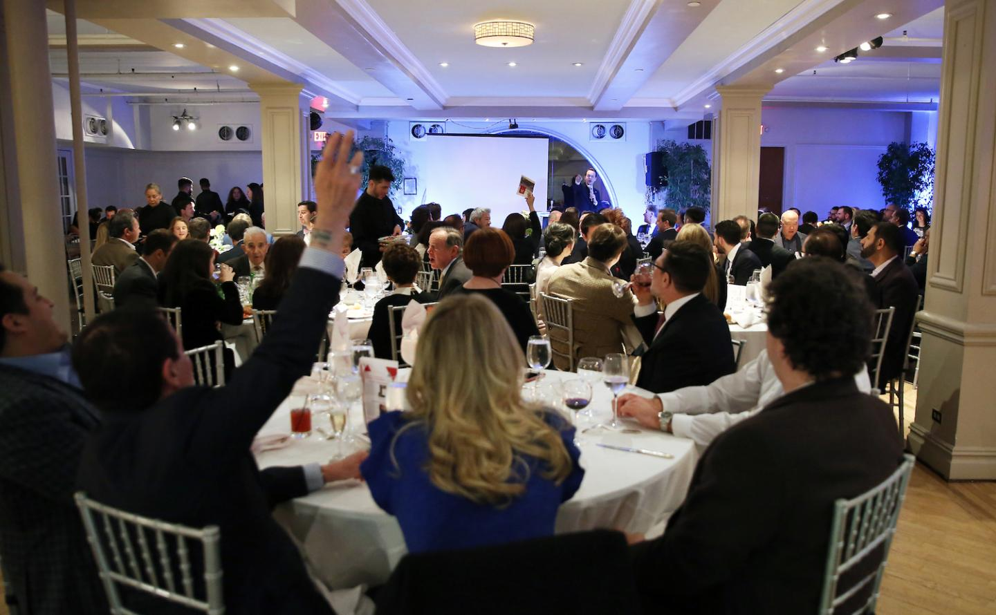 The Society regularly organises galas with charitable auctions.