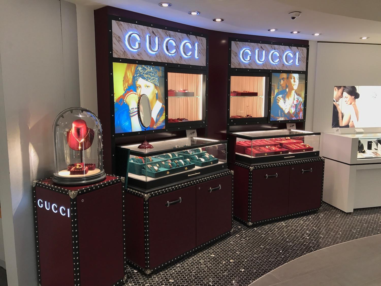 Gucci dans la Bijouterie Italienne