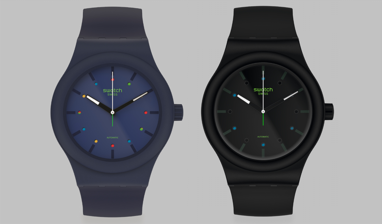 Swatch presents Sistem51 bio-reloaded models