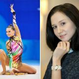 Left: Liubov Charkashyna at the XXIXth Olympiad Games in Bejing/China 2008 - Right: Liubov Charkashyna with an RSW Loop