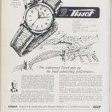 Tissot ads featured in Europa Star in 1951