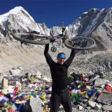 Alpina Watches athlete and Brand Ambassador Patrick Sweeney on Mount Everest