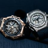 Spidolite Gold (left) and Spidolite Titanium by Linde Werdelin
