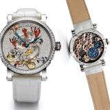 Grieb & Benzinger and Marcus Boutique's White Dragon Pavé Timepiece
