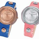 Left: The Versace Thea Blue - Right: The Versace Thea Pink