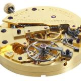 The co-axial escapement movement in the George Daniels Anniversary Watch