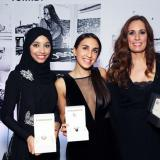 From left to right: Shayma Al-Mughairy, Maddalena Miramonti, Sabrine El Hossamy