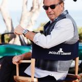 Kevin Costner wearing Jacques Lemans