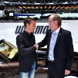 Arnaud Faivre and Friedhelm Wiesmann at the 2013 Motor Show in Geneva
