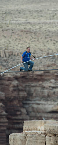JeanRichard Congratulates their Ambassador Nik Wallenda on his Inspiring Crossing of the Grand Canyon