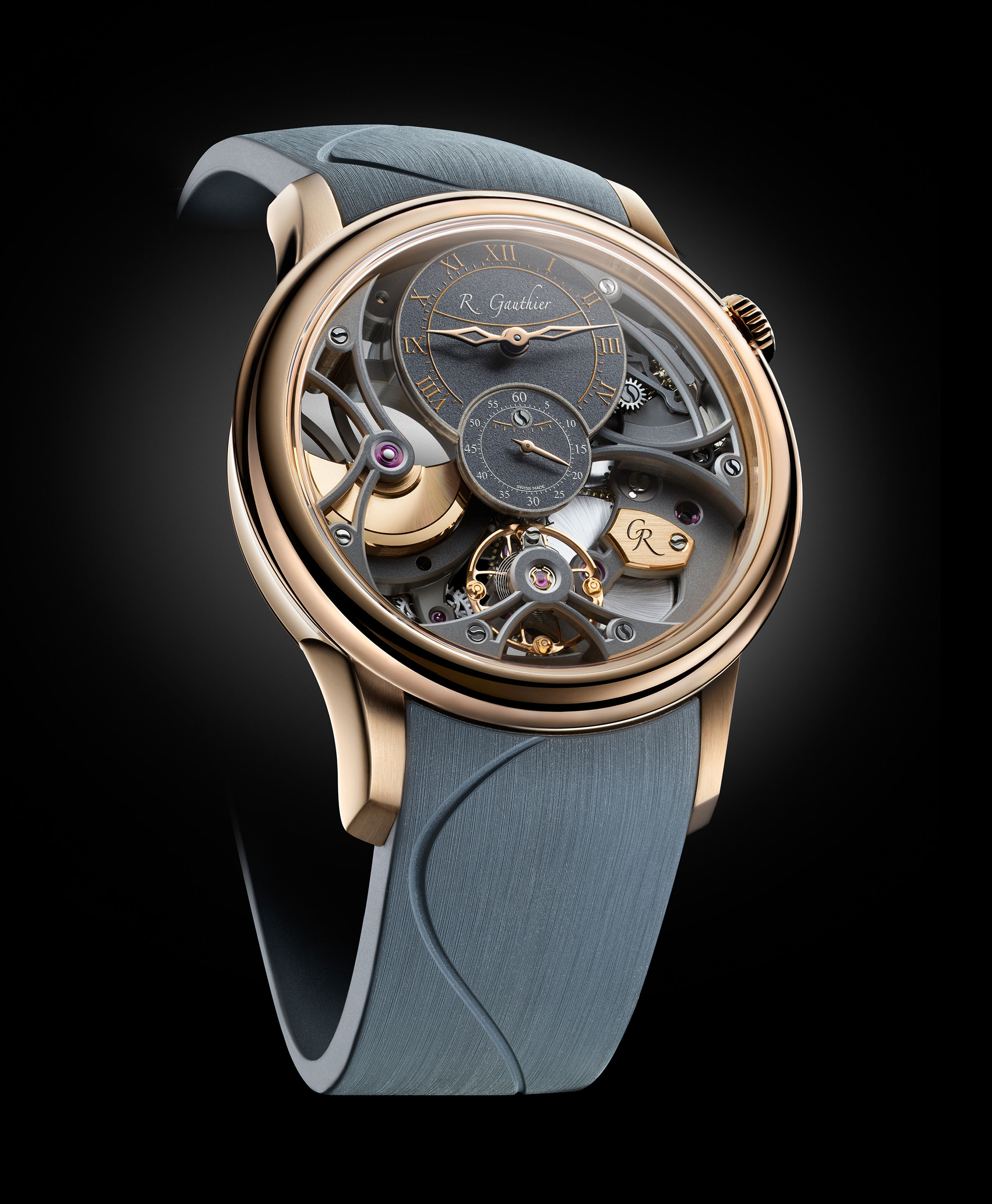 Romain Gauthier: The Insight Micro-Rotor Squelette