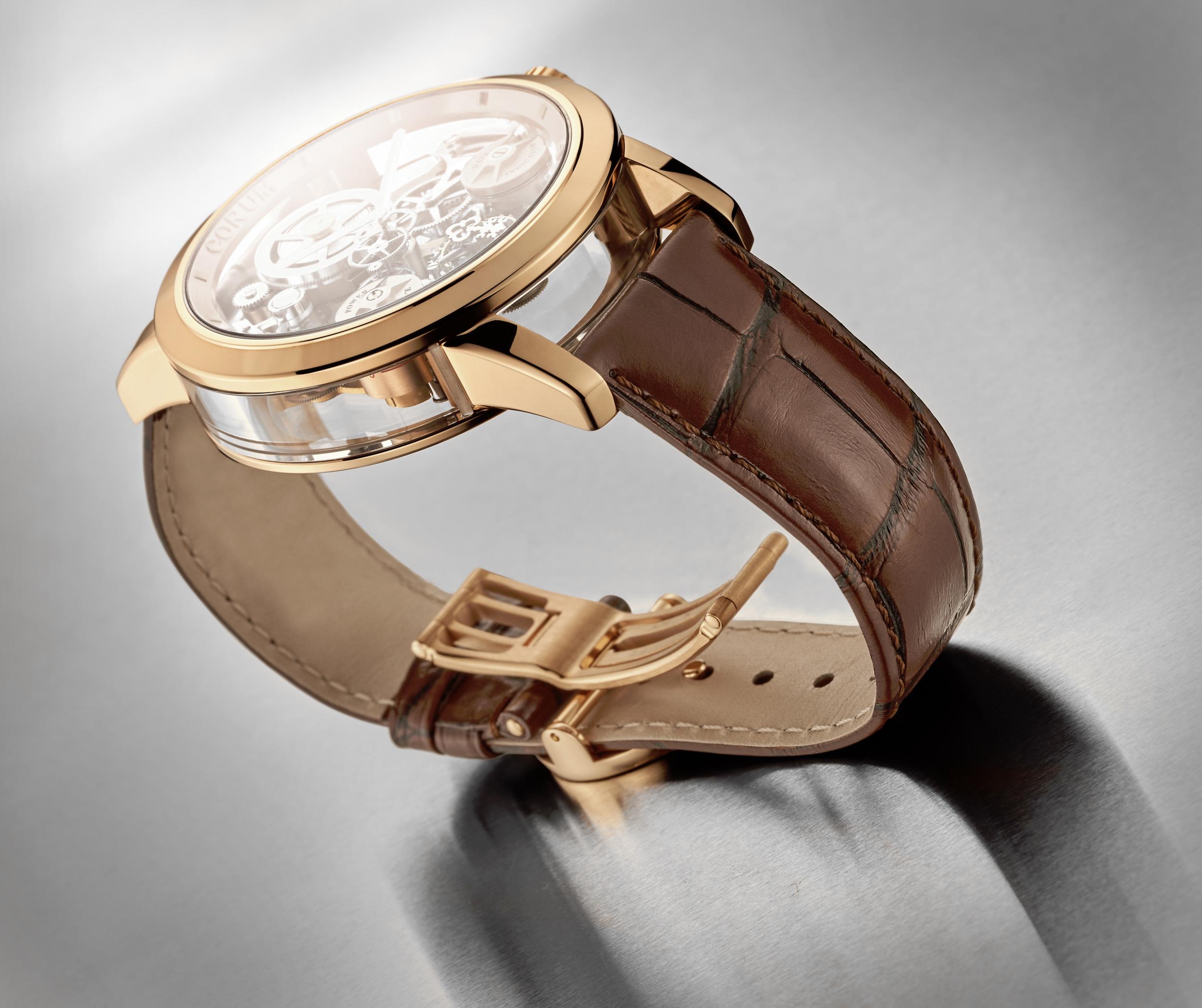 Corum unveils its disruptive Lab 02 timepiece