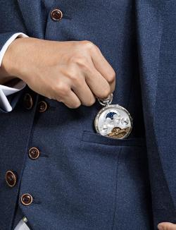 Aerowatch Lépine Hebdomas pocket watch