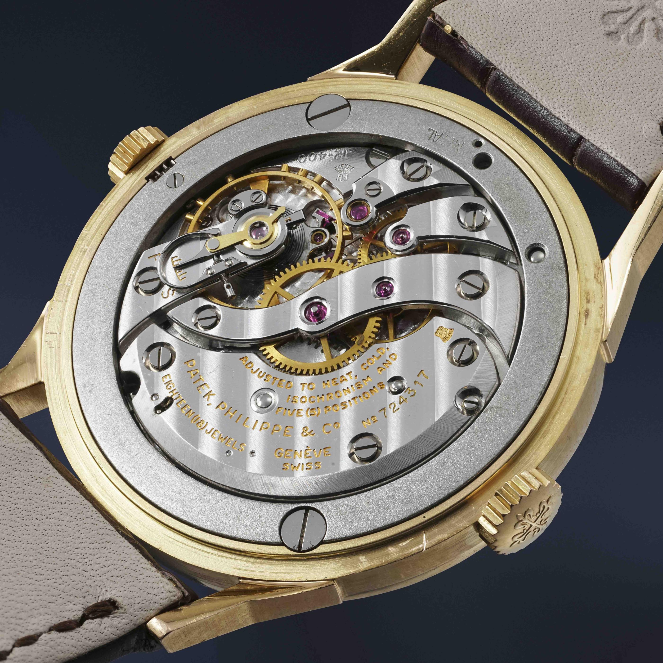 An extremely rare Patek Philippe to be auctioned in Geneva