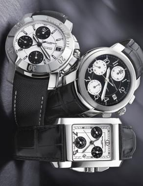 CAPELAND CHRONOGRAPHS by Baume & Mercier