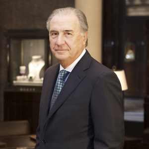 Michel Pitteloud, Chief Executive Officer of Graff Luxury Watches