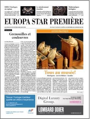 Europa Star Première - Sept./Oct. n°5-2015