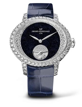 CAT'S EYE NIGHT AND DAY HIGH JEWELLERY by Girard-Perregaux