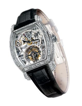 OPENWORKED GEM-SET TOURBILLON by Vacheron Constantin