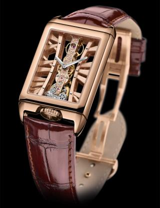 GOLDEN BRIDGE RECTANGLE by Corum