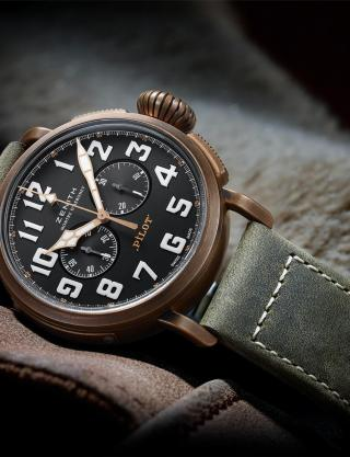 PILOT EXTRA SPECIAL CHRONOGRAPH by Zenith