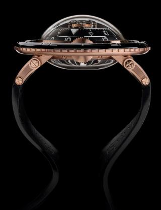 HM7 AQUAPOD – RED GOLD LIMITED EDITION by MB&F