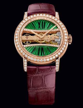 LADY GOLDEN BRIDGE ROUND 39 MM by Corum