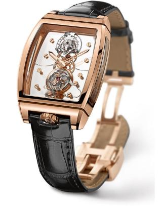 GOLDEN BRIDGE TOURBILLON PANORAMIQUE by Corum