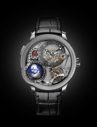 GMT Earth by Greubel Forsey