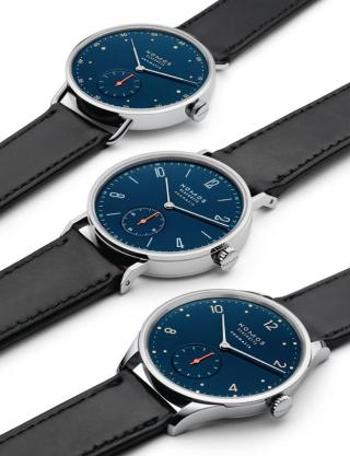 NEOMATIK COLLECTION MIDNIGHT BLUE by Nomos Glashütte