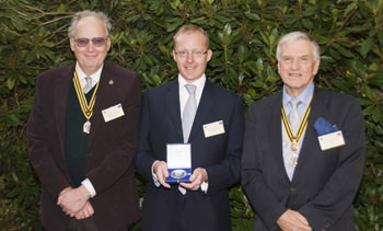 Roger W. Smith honoured with BHI silver medal for outstanding achievements in horology