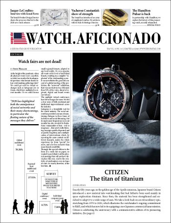 EUROPA STAR WATCH-AFICIONADO CHAPTER 3-2020