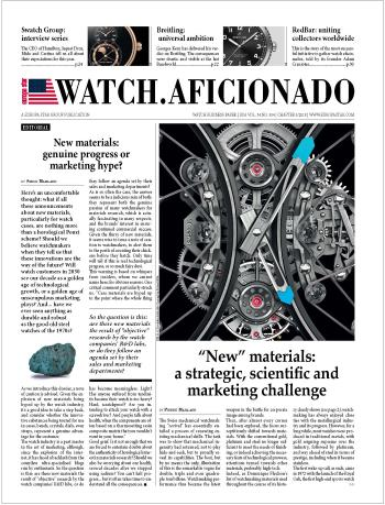 VIEW ES WATCH.AFICIONADO E-MAGAZINE