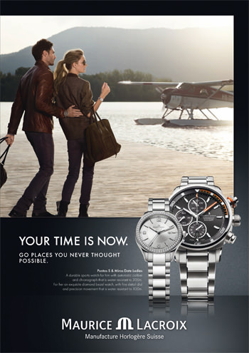 New Advertising Campaign by Maurice Lacroix