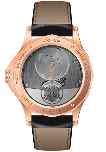 Admiral's Cup Legend 42 Flying Tourbillon by Corum (Back)