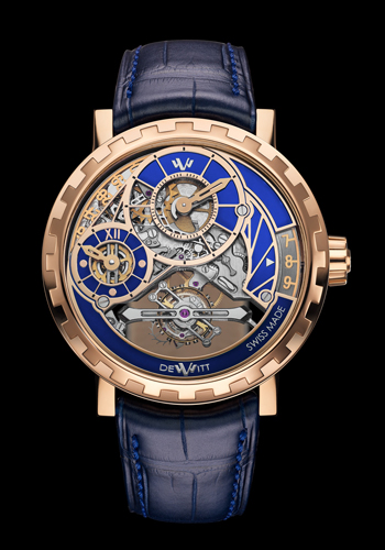 Academia Grand Tourbillon by DeWitt (Blue)