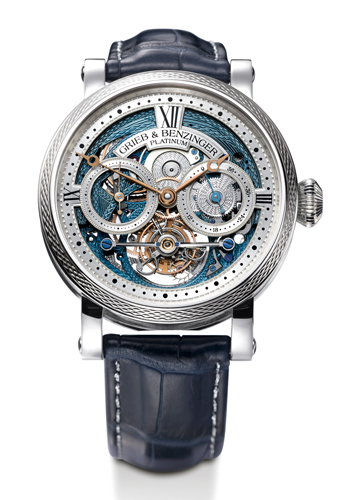 Grieb & Benzinger's Blue Merit celebrating A Lange & Söhne's 20th relaunch anniversary