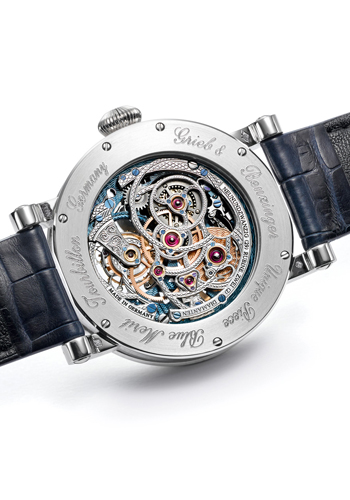 Back of the Blue Merit by Grieb & Benzinger