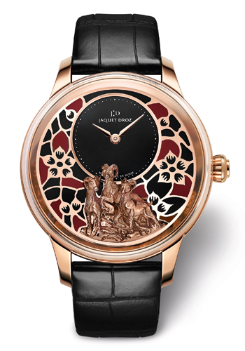 Petite Heure Minute Relief Goats by Jaquet Droz