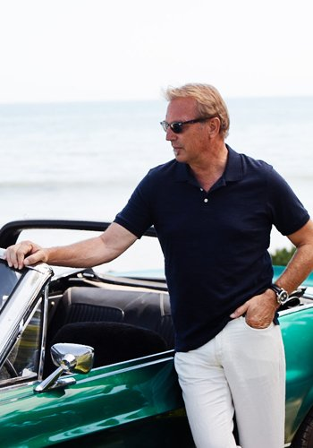 Kevin Costner, testimonial of Jacques Lemans