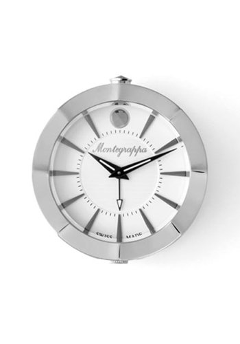 NeroUno Table Clock (45mm Diameter - White Dial)