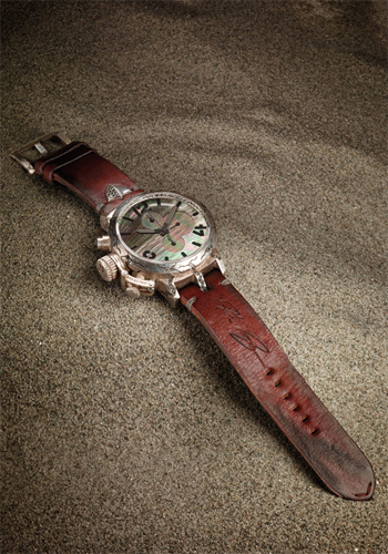 """Ultra Rare"" watch by U-Boat (part of a series of 5 timepieces)"