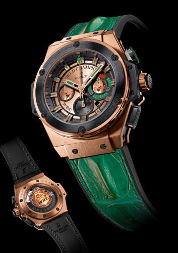 Hublot enters the ring in new tie-up with World Boxing Council