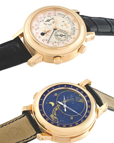 "Patek Philippe Ref. 5002 ""Sky Moon Tourbillon"" with special order case in pink gold"