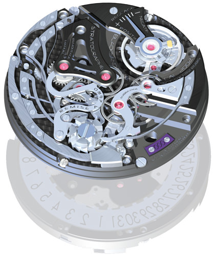 BaselWorld 2012 novelties: Stratographe by Blacksand